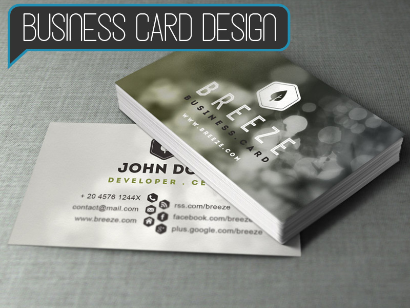 Business Card Design - Starting at $150