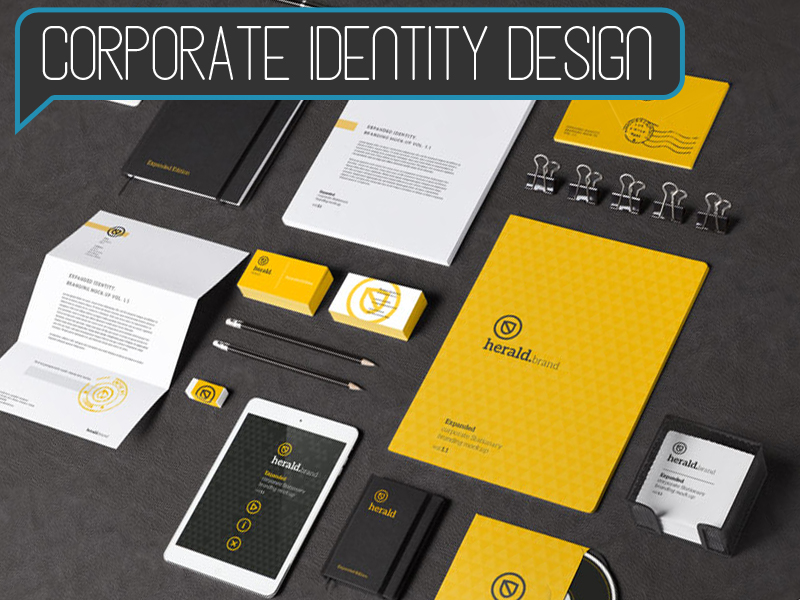 Corporate Identity Design - Starting at $1299