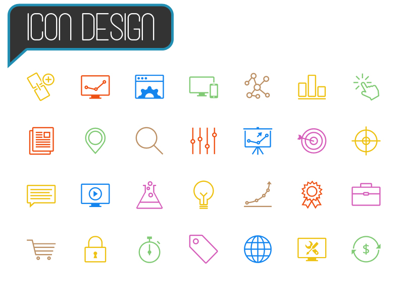 Icon Design - Starting at $30