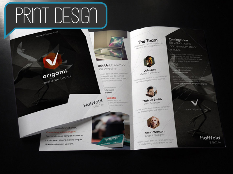 Print Design - Starting at $200